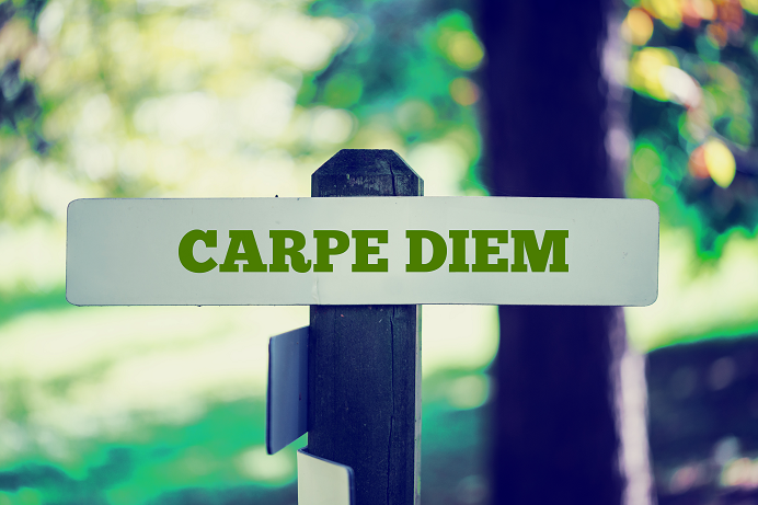 CARPE DIEM (BY MIKE GEORGE)
