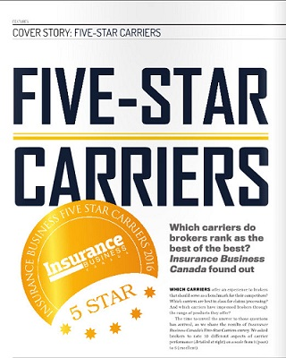BROKERS VOTE TRISURA TO BE AMONG BEST CARRIERS IN CANADA