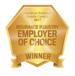 IB Awards Canada - Winner - Insurance Industry Employer of Choice