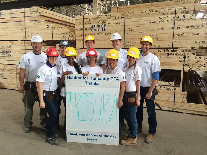 "THE TRISURA ""ADOPT-A-DAY"" WITH HABITAT FOR HUMANITY"