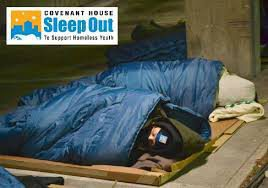 The Covenant House Sleep Out – By Mike George